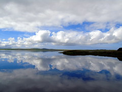 Reflection (stuartcroy) Tags: orkney island harray harrayloch reflection ripples colour clouds scotland sea scenery sky sony still beautiful blue bay