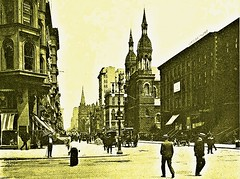 42nd St. and 5th Ave. looking north, Manhattan - 1905 (SSAVE w/ over 7 MILLION views THX) Tags: newyorkcity manhattan 1905 streetscenes