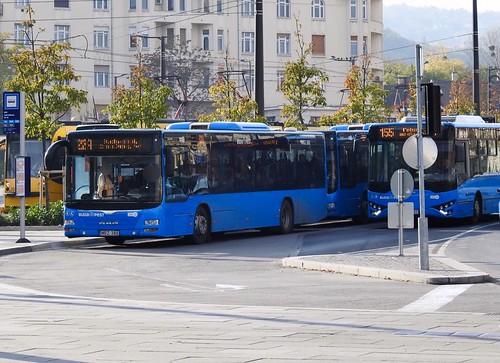 Volánbusz MRZ-388 #MANLionsCity | 22A autóbusz