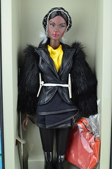 GRAAIILL DAAAYYY!!! (Dolldiva67) Tags: nadja polarity grail doll nu face collection 2015 beautiful black dolls lady yellow integritytoys fashionroyalty