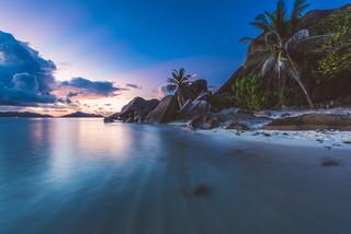 Seychelles - Anse Source d'Argent Sunset