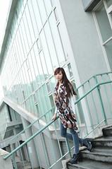 喬喬1009 (Mike (JPG直出~ 這就是我的忍道XD)) Tags: 喬喬 台灣大學 d300 model beauty 外拍 portrait 2013