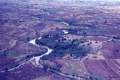 Nzoia River air, Western Kenya 1971 (Hart Walter) Tags: tourism coffee cattle rice tea goats sunflower sisal camels sugarcane deforestation desertification tef africanlanduse baobabdestruction