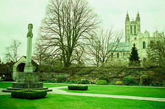 000064650014 (FXDBBBT) Tags: uk travel film 35mm iso100 ct canterbury contax crossprocessing agfa t2 contaxt2 precisa 2013