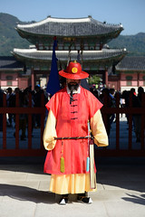 F010443 The Guard of Gyeongbokgung (cleanylee) Tags: korea   soeul