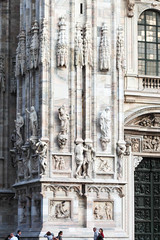 Lovely Details (Jocey K) Tags: italy sculpture milan detail window architecture buildings doors arch cathedral structure relief marble figures milancathedral cosmostour6330