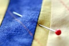 FRS100965 (Chance Agrella) Tags: sewing pins fabric quilting stitching needles basting pinned basted
