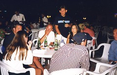 Tunisia 1998 - Kate, Danny, Greg, Me, Lisa, Chris & Dad (Gareth Wonfor (TempusVolat)) Tags: tunisia 1998 holiday people party gareth me table drinks tempus volat tempusvolat mrmorodo scan scanned epson perfection v200 scanner scanning old vintage film wife woman girl brunette beautiful beauty pretty beautifulwife beautifulwoman prettywife attractive lovelywife mywife mygirl gorgeouswife lovelylisa prettylisa goodlooking goodlooks spouse lover lovely love allure elegant scans photoscanner epsonperfection geotagged garethwonfor mr morodo family