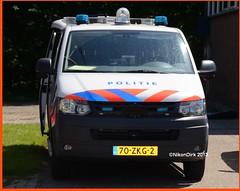 Dutch Police VW. (NikonDirk) Tags: holland netherlands dutch vw volkswagen utrecht cops traffic nederland police environmental cop t5 emergency gp transporter unit gooi politie touran vechtstreek verkeer midden hulpverlening nikondirk