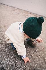 Exploration (Julie Stutzman) Tags: life color film analog 35mm austria spring europe day child exploring 200iso contax fujifilm t3 everyday graz