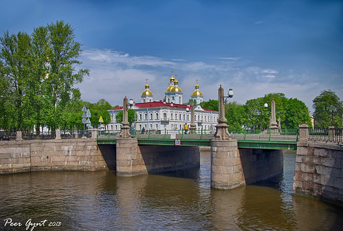 Pikalov Bridge. Saint-Petersburg. Пикалов мост. Санкт-Петербург. ©  Peer.Gynt