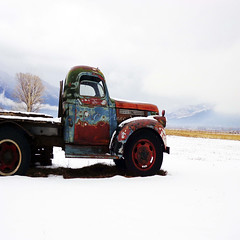 winter newmexico chevrolet zeiss sony cybershot chevy... (Photo: newmexicomtngirl (CheyAnne Sexton) on Flickr)