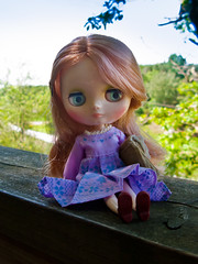 Parson Grace @ Nordens Ark (Helena / Funny Bunny) Tags: doll blythe middie funnybunny nordensark rhubarbcheesecake parsongrace