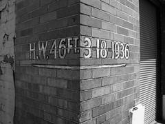 floodmark (Summ....) Tags: flood lettering highwatermark