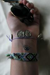 Leftover (Claire Y. Martin) Tags: summer eye digital bracelet wrist update temporarytattoo