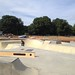 The new skatepark at The Level, under trial just before opening