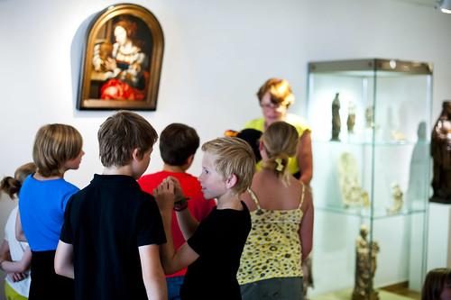 Atelier in Museum Mayer van den Bergh (c) Noortje Palmers
