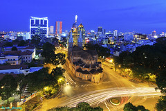 Saigon corner by night! (ak_phuong (Tran Minh Phuong)) Tags: from above new city blue news price last wonderful wonder for book high fantastic asia vietnamese photographer angle superb very sale traditional picture first super center hobby best southern viet most cover hour tiny beat winner excellent resolution prize about win talking sales ever cheap biggest nam nh b cung habbit 2013 hochiminhcityvietnam ng th thnh vng c akphuongtranminhphuongartofpicturesaigonbynightcornersaigonnotredamebasilica saigonner