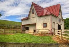 1856 Carriage House, Valvert Farm, Ijamsville Maryland (PhotosToArtByMike) Tags: barn md farm carriagehouse maryland barnstormerstour frederickcomaryland ijamsvillemaryland southgreenvalley valvertfarm