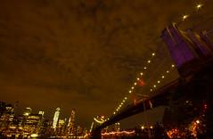 Starry night (JMFusco) Tags: newyorkcity sunset landscape manhattan brooklynbridge brooklynbridgepark