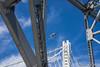 old vs new bay bridge (sbdunkscarl) Tags: bridge blue sky kite building tower beach field yellow night foot 50mm golden bay sand gate san francisco long exposure mark 14 fine steps arts sfmoma palace east filter nd area di setup 18 fx crissy d800 dx suvero 2470mm 2013 1424 at sbdunkscarl wwwsbdunkscarlblogspotcom d800e sbdunkscarlblogspotcom httpwwwsbdunkscarlblogspotcom