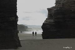 Preludio otoñal (angelbg) Tags: playa paisaje galicia lugo ribadeo playadelascatedrales praiadascatedrais preludiootoñal