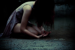 IMG_9627 (megscapturedtreasures) Tags: water girl lost sadness alone sad despair discovery thrive