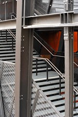 "metall stairs • <a style=""font-size:0.8em;"" href=""http://www.flickr.com/photos/20176387@N00/10000321424/"" target=""_blank"">View on Flickr</a>"
