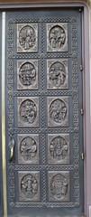 Cathedral Basilica of Saint Francis of Assisi Doors (Santa Fe, New Mexico) (courthouselover) Tags: newmexico nm churches santafecounty santafe santafetrail ushighway84 northamerica unitedstates us