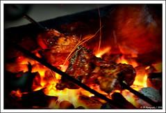Chicken Barbeque !!! (Piyush.Saxenaa) Tags: chicken fire nikon grill barbeque piyush saxena d5100 nikond5100 piyushsaxena piyushsaxenaa