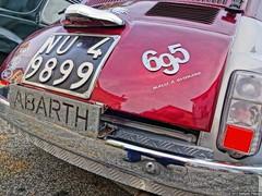 FIAT 500 model 695 tail (rpalandri) Tags: italy model fiat 500 fiat500 cinquecento abarth rm fiatcinquecento 695 modello manziana sagradellacastagna 500abarth wwwraffaellopalandricom model695 modello695