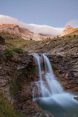 Barranco (S l a w e k) Tags: mountains vertical landscape waterfall spain long exposure huesca cascade pyrenees barranco pirineos aragn asa vallesoccidentales valledeasa iger