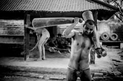 Kushti Dairies (@rup Photography) Tags: portrait india white black monochrome 35mm prime nikon mud awesome documentary varanasi approved wrestler tradition blackand inde benares mughal kushti akhada