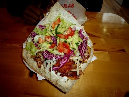 Döner kebab, Berlin, Allemagne