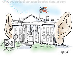 White House para escucharte mejor (Caricaturascristian) Tags: white house casa para edward blanca snowden obama merkel mejor nsa espia espy espionaje escucharte vision:text=0637 vision:outdoor=0982