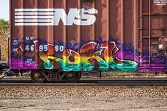 KOAL (TheLost&Found) Tags: urban art look minnesota photography graffiti paint you painted exploring minneapolis trains made explore u boxcar graff burner mul freights koal thelostandfound