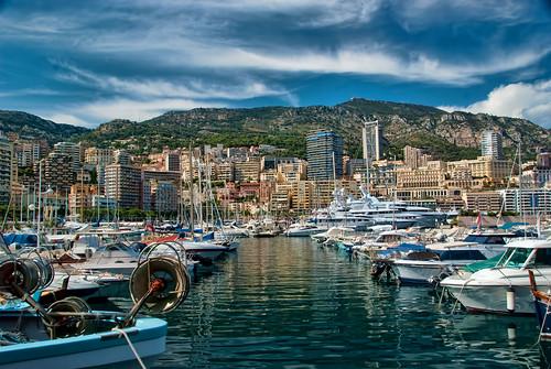 Avenue of Yachts in Monaco by trishhartmann, on Flickr