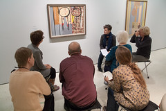 Mind's Eye: Robert Motherwell (Solomon R. Guggenheim Museum) Tags: motherwell guggenheimmuseum mindseye robertmotherwell publicprograms accesstour