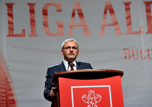 Liviu Dragnea la Liga Alesilor Locali ai PSD, Palatul Parlamentului