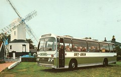 Grey Green Coaches ( George Ewer Group ) . JRK619K . (AndrewHA's) Tags: panorama holiday bus london windmill coach tour group leopard elite coaches excursion leyland stamfordhill greygreen plaxton psu3b4r georgeewer jrk619k