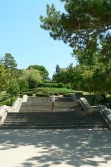 Севастополь, лестница Малахова кургана