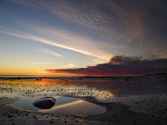 Dawn at Boulmer. (Amble180) Tags: wild lumix day panasonic northumberland about g3 boulmer 1442 pwpartlycloudy