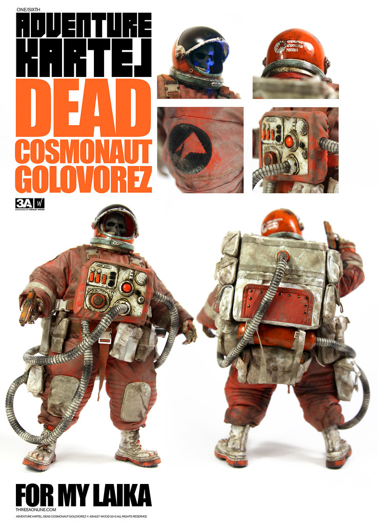 threeA - 死亡太空黑幫 零售版 / DEAD COSMONAUT GOLOVOREZ