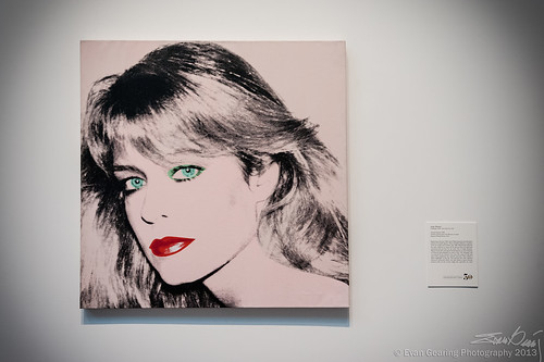 Andy Warhol Portrait of Farrah Fawcett