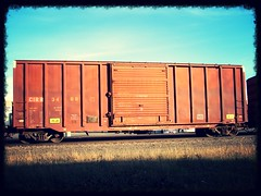 (SKHATE AND DESTROY) Tags: freighttrains boxcar freights virginboxcar