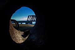 (Abel AP) Tags: stormpipe debris bridge sanfranciscobay fremont california donedwardssanfranciscobaynationalwildliferefuge bayarea usa abelalcantarphotography