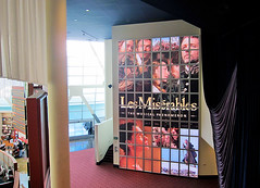 Entertainment, Les Misérables at ArcLight Hollywood, Backlit Graphics