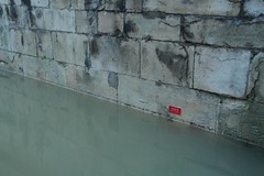 Flood level, Wallingford Bridge, 9 January 2014 (CEH Science News) Tags: thames river flooding floods wallingford