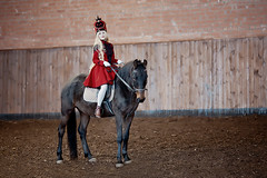 Husar Lolita (Lady Integra_CosMo) Tags: red horse cosplay lolita belarus cosmo blac hussar husar