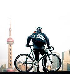 Cannondale / Bund Shanghai /   (father TU) Tags: shanghai fixie fixedgear cannondale bund trackbike cannondaletrack fathertu